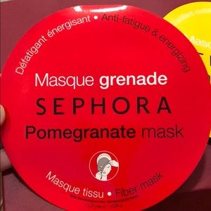 3 pack Brand New Sephora Face Masks